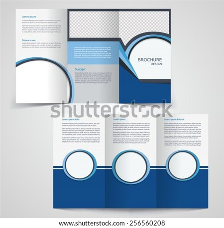 double sided brochure templates