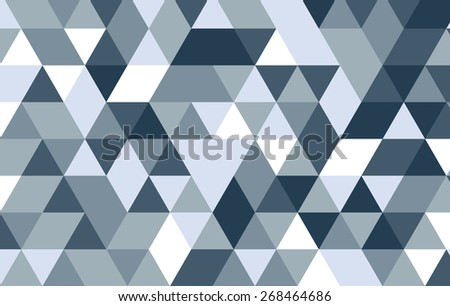 triangle abstract design background.geometric pattern template. - stock vector