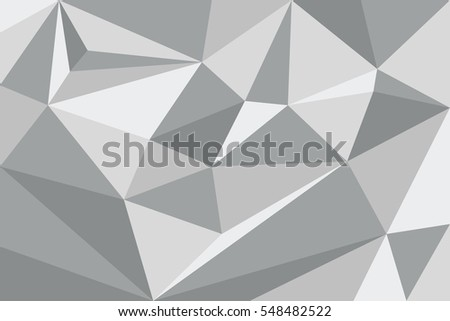 Triangle, Abstract Triangle boxes, Background Design, White