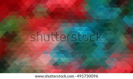 Triangle blocks structure Background for You business presentation.