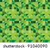 triangle seamless pattern - vector illustration - stock vector