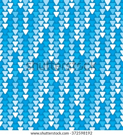 Triangles cosmic rain seamless background - stock vector