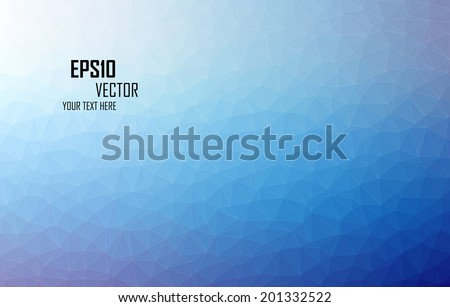 Triangular abstract colorful background eps10 vector - stock vector