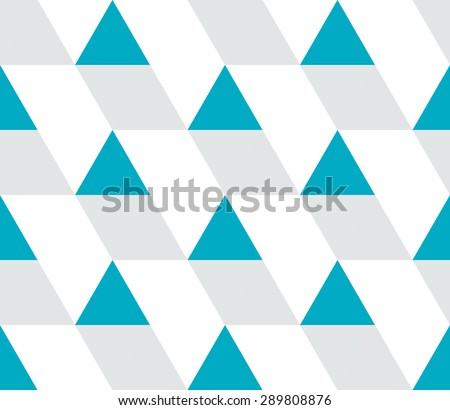 Triangular background. Seamless geometric pattern. Vector illustration. - stock vector