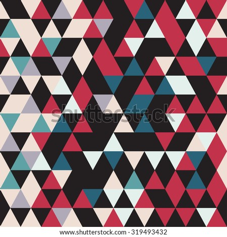 Triangular seamless pattern.