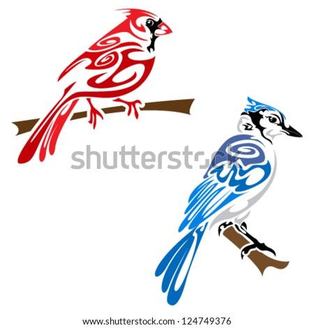 Tatouages d'oiseaux Cardinaux sur Pinterest | Tatouages ...