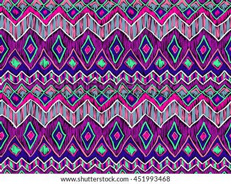 Tribal boho pattern ethnic design texture tribal boho pattern ethnic design texture hippie style sketch effect vector trendy voltagebd Gallery