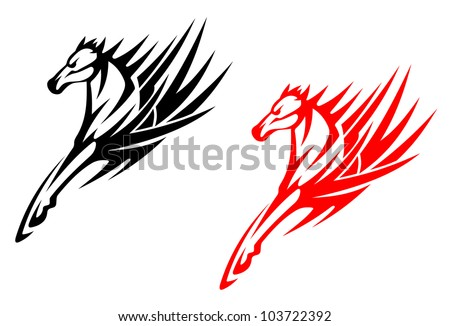 tribal horse stock images, royalty-free images & vectors