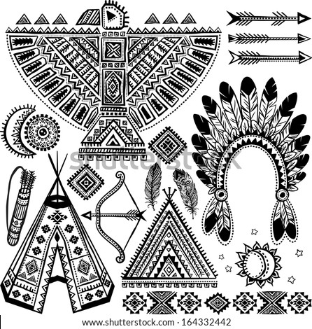 Native American Symbols Stock Images, Royalty-Free Images ...