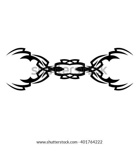 Vector illustration broken handcuffs freedom freedom stock for Freedom tribal tattoos