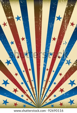 Tricolor Sunbeam grunge background. A background for your advertising.