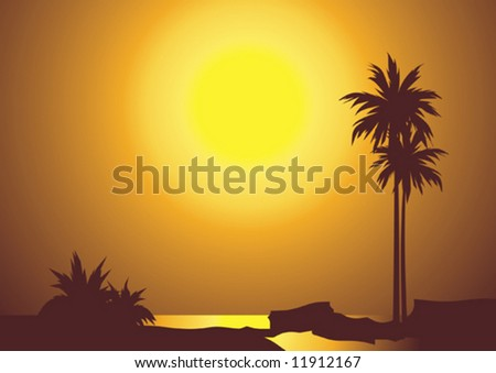 Tropical seascape