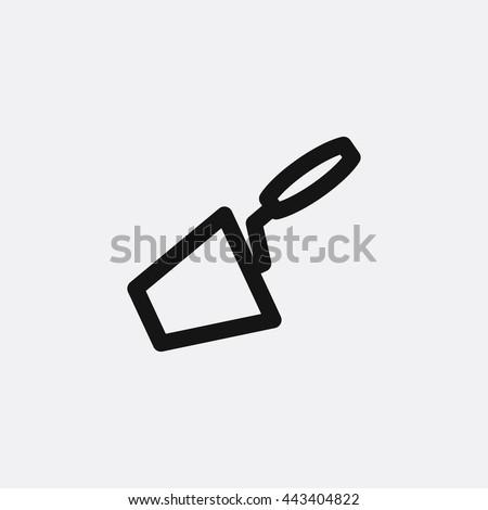 Trowel Icon, Trowel Icon Eps10, Trowel Icon Vector, Trowel Icon Eps, Trowel Icon Jpg, Trowel Icon, Trowel Icon Flat, Trowel Icon App, Trowel Icon Web, Trowel Icon Art, Trowel Icon, Trowel Icon, Trowel - stock vector
