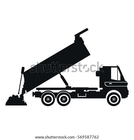 Bitmap Movable Crane Flat Style 451242481