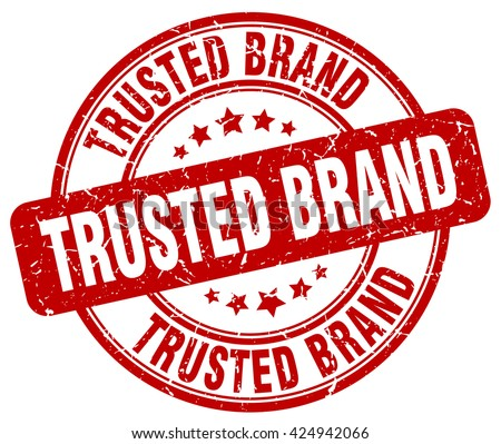 trusted brand. stamp