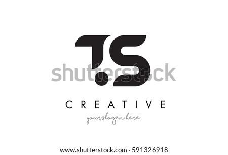 Ts Design ts letter logo design creative modern stock vector 591326918