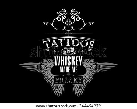 tshirt design - stock vector