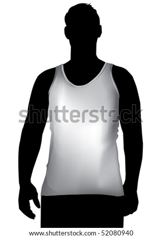 TShirt ,tank top,shirt front  with mesh