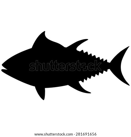 Tuna Silhouette Stock Images, Royalty-Free Images ...