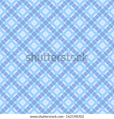 turquoise and violet seamless checkered pattern  - stock vector
