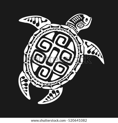 Sea Turtle Tattoo Stock Images Royalty Free Images