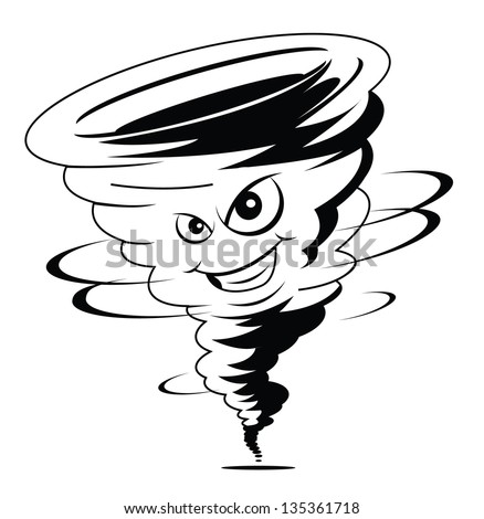 Twister Tornado Clip Art Twister Cartoon Stock ...