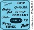 Typography - stock vector