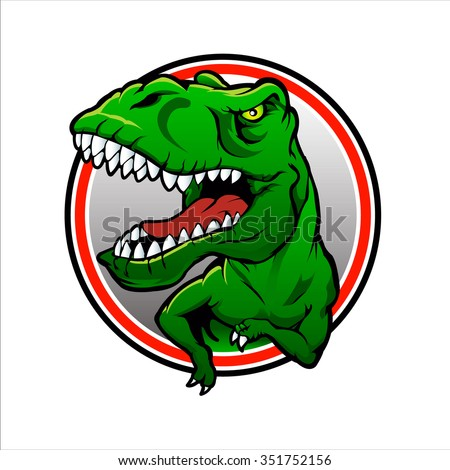 Tyranosaurus rex Vector drawing - stock vector