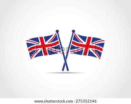 UK Britain Emblem - stock vector
