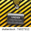 Under construction background-vector - stock photo