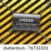 Under construction background-vector - stock