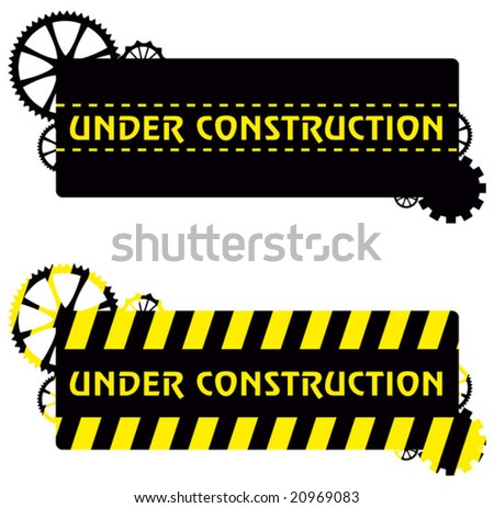 under construction shield