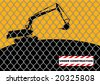 under construction vector - stock photo