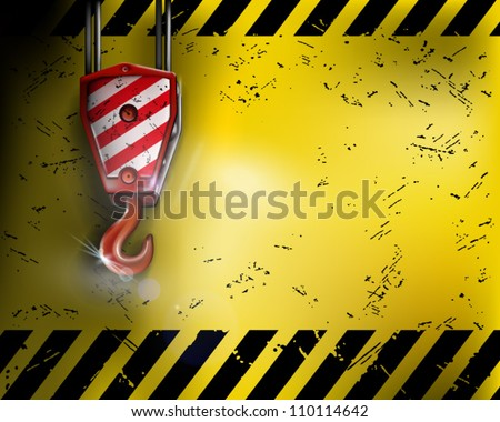 Under construction. Vector illustration. - stock vector