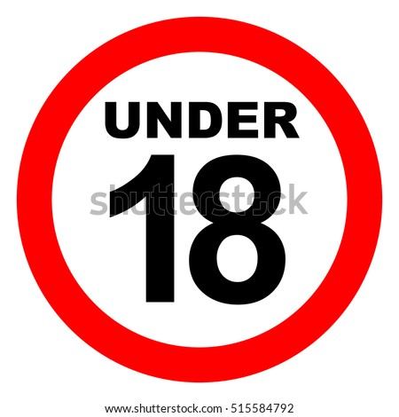 under eighteen sign stock images royaltyfree images