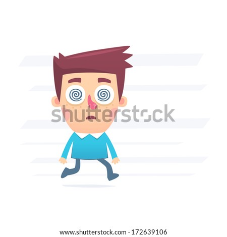 Under the influence of industry - stock vector