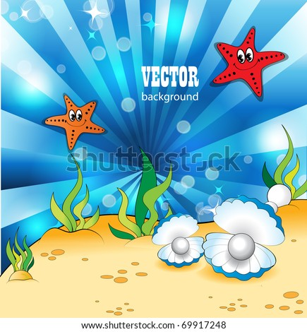 Under the Sea - stock vector