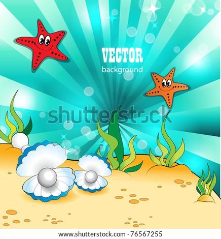 Under the Sea - stock vector