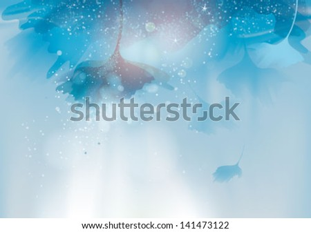Under the surface / Magic life under the water - stock vector