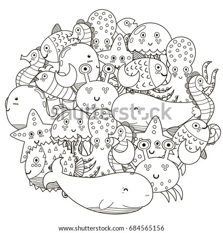 sea animal stock images royalty free images vectors shutterstock. Black Bedroom Furniture Sets. Home Design Ideas