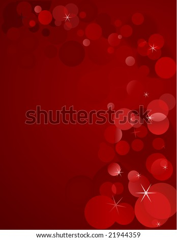 unfocused holiday lights - stock vector
