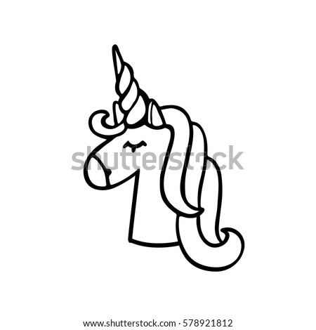 Unicorn Black Stock Images Royalty Free Images Amp Vectors