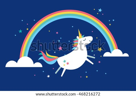 unicorn vector/illustration
