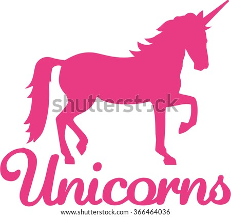Unicorn Silhouette Stock Images Royalty Free Images amp Vectors Shutterstock