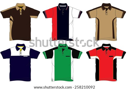 Uniform Polo - stock vector