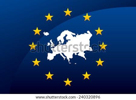 union european - stock vector