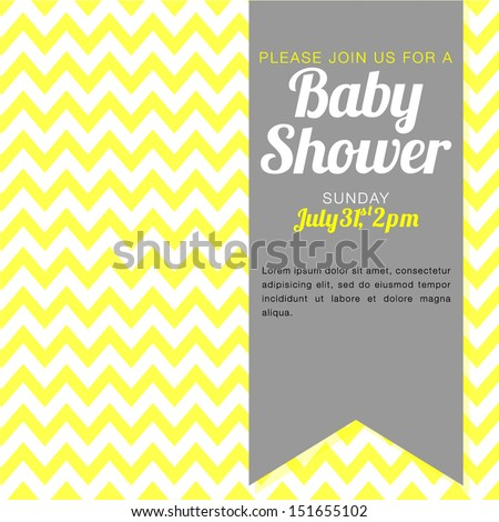 Unisex Baby Backgrounds Baby Shower Inv...
