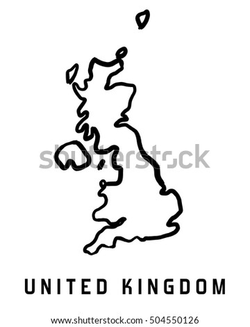 Uk Map Outline Stock Images, Royalty-Free Images & Vectors ...