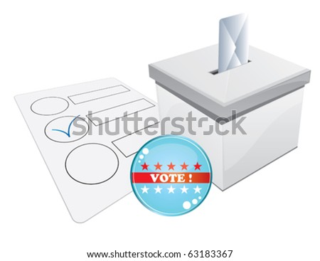 united states election - stock vector