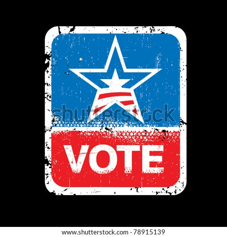 United States Elections - stock vector